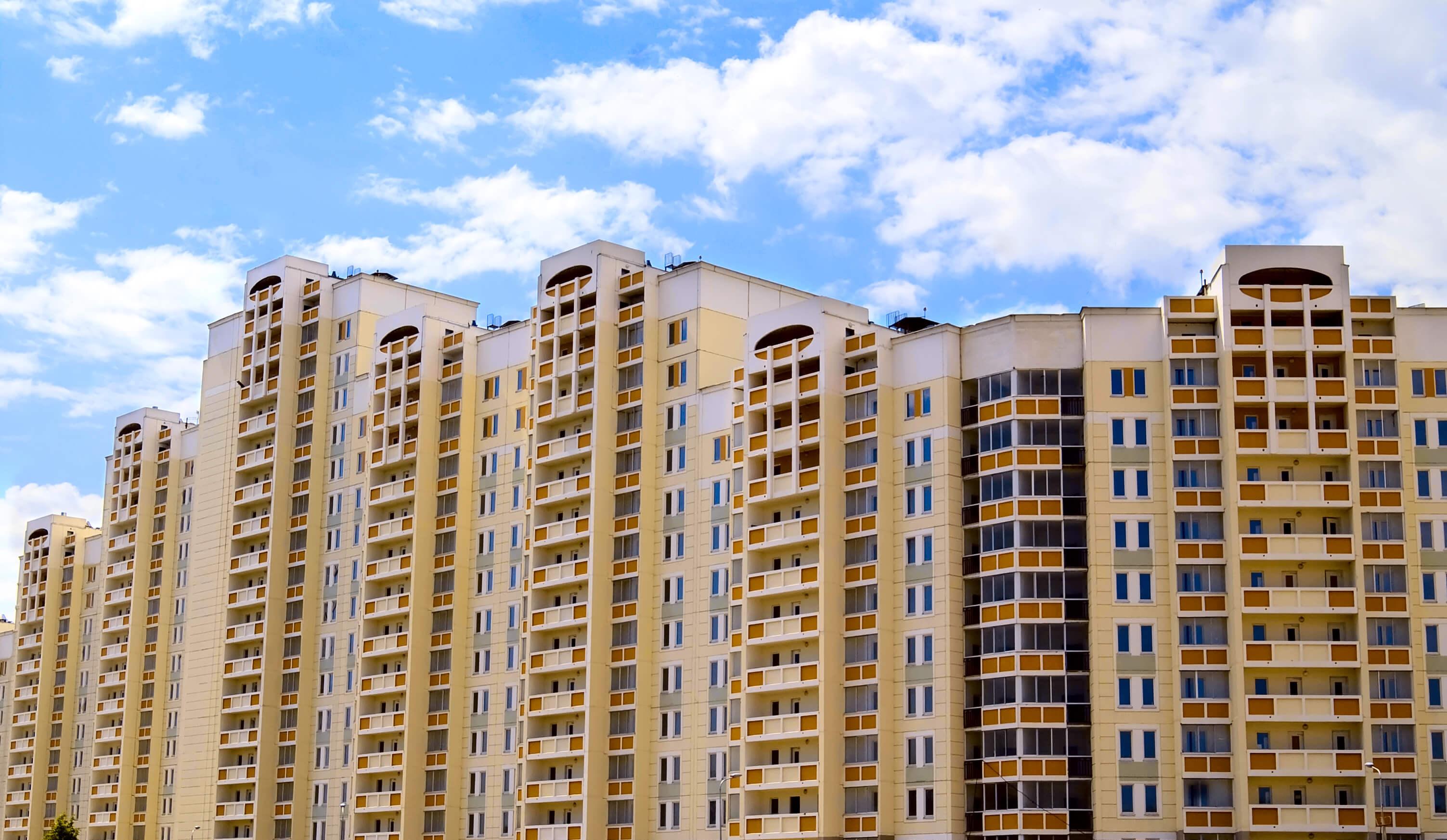 Увеличилось количество жилых комплексов